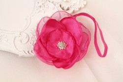 Enthralling Baby Pink Sleek Flower for Cute Girls