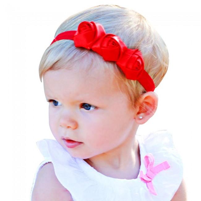 ... Newborn BabyGirl Soft Headband · Zoom a7327c67929